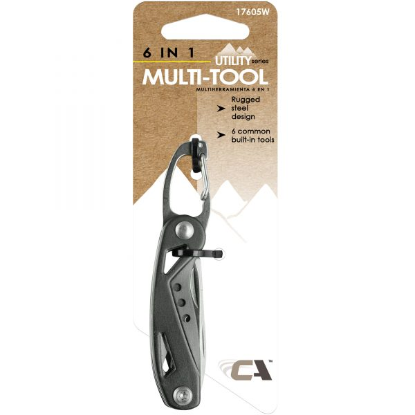 Utility Series 6-in-1 Multi-Tool Keychain