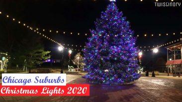 Christmas Lights 2020 Chicago Suburbs