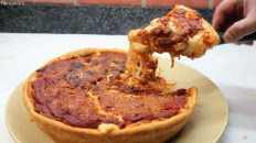 Chicago Style Pizza - Deep Dish Pizza