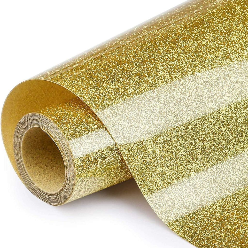 JUWAIre Glitter Heat Transfer Vinyl