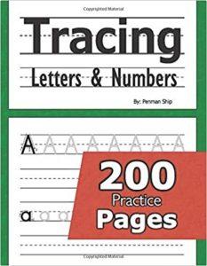 Tracing work book Homeschool Essentials