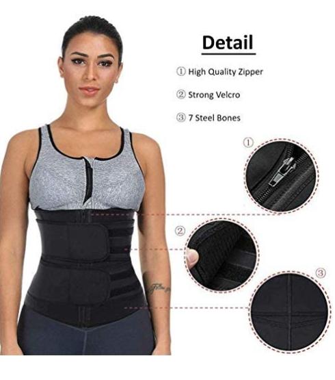 Women's Corset Trimmer Belt